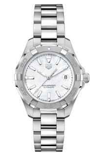 AQUARACER Calibre 9 Автоматические мужские часы с белым циферблатом TAG Heuer