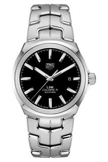 LINK Calibre 5 Автоматические мужские часы с черным циферблатом Tag Heuer