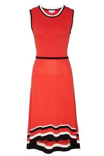 Асимметричное вязаное платье Claudie Pierlot
