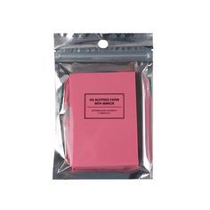 РАЗНОЕ Матирующие салфетки для лица Pink