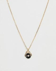 Золотистое ожерелье Reclaimed Vintage inspired эксклюзивно для ASOS - Золотой