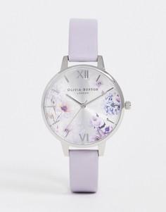 Часы с кожаным ремешком Olivia Burton OB16EG137 - Фиолетовый