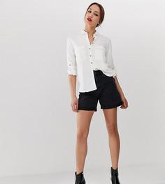 Шорты в винтажном стиле с завышенной талией Vero Moda Tall - Черный