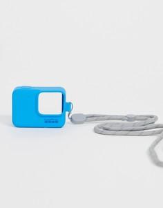 Синий чехол для камеры и шнурок GoPro - Мульти