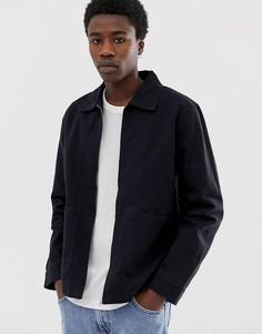 Черная спортивная куртка Weekday Camp - Черный