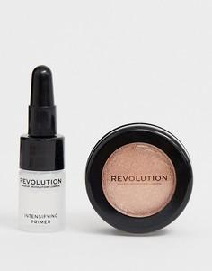 Блестящие тени для век Revolution Flawless Foils - Rebound - Розовый