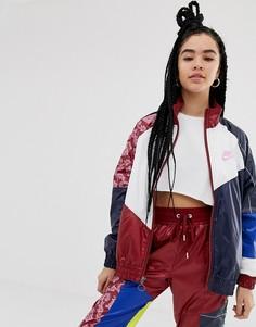 Спортивная куртка в стиле колор блок Nike - Мульти