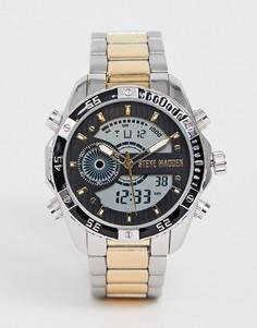 Электронные часы с металлическим корпусом Steve Madden - Мульти