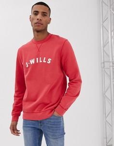 Красный свитшот с круглым вырезом Jack Wills Callington - Красный