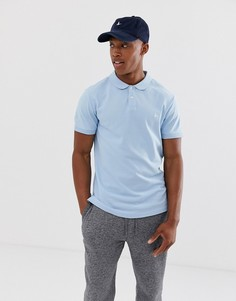 Небесно-синяя футболка-поло с логотипом Jack Wills Aldgrove - Синий