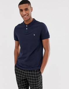 Темно-синяя футболка-поло с логотипом Jack Wills Aldgrove - Темно-синий