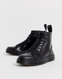 Черные ботинки с 8 парами люверсов Dr Martens Talib - Черный