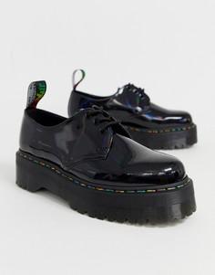 Черные туфли Dr Martens 1461 Quad - Черный