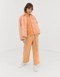 Укороченные брюки Penfield Bellamy - Розовый
