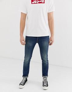 Синие джинсы скинни Levis 510 madison - Темно-синий