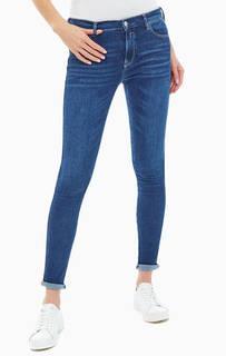 Синие джинсы скинни с высокой талией Stella Replay