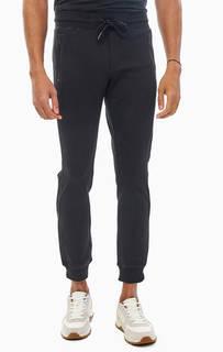 Черные брюки джоггеры с карманами на молниях Antony Morato