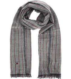 Шерстяной шарф в полоску Tommy Hilfiger
