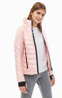 Розовая куртка с карманами Dkny