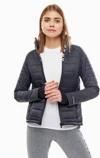 Черная куртка с карманами Dkny