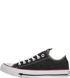 Джинсовые кеды черного цвета Converse