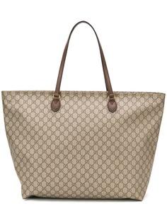 Gucci сумка-тоут с узором GG