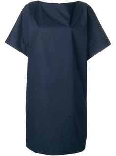 Fay однотонное платье трапеция
