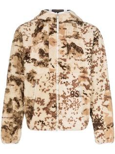 1017 Alyx 9SM флисовая куртка с капюшоном и принтом