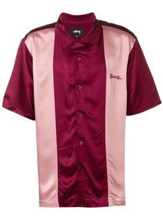 Stussy color blocked shirt