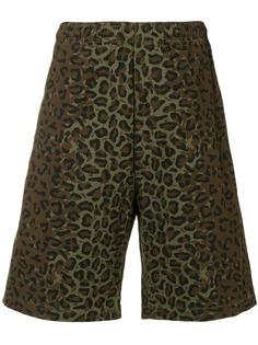 Stussy плавки-шорты с камуфляжным принтом