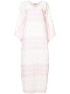 Bambah платье-кафтан Antonia в полоску