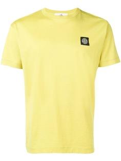 Stone Island patch logo T-shirt