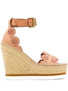 See By Chloé classic raffia sandals