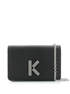 Kenzo сумка с цепочкой и логотипом