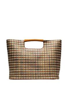 Simon Miller соломенная сумка-тоут Birch среднего размера
