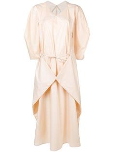 Lemaire платье с кулиской