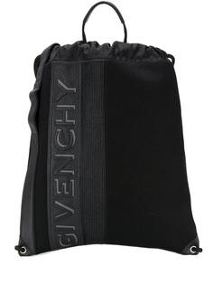 Givenchy рюкзак с тисненым логотипом