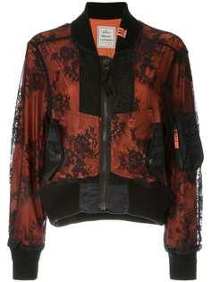 Maison Mihara Yasuhiro кружевная куртка-бомбер