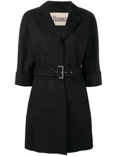 Herno пальто с поясом