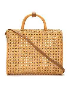 Serpui соломенная сумка на плечо
