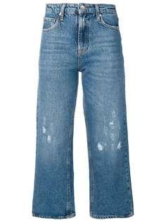 Liu Jo Wine wide leg cropped jeans