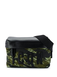 Dsquared2 Icon camouflage print bum bag