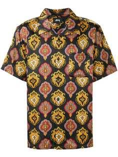 Stussy shield print shirt