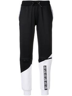 Philipp Plein спортивные брюки с кулиской