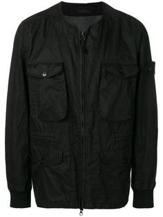 Stone Island panelled lightweight jacket