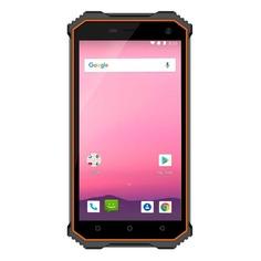 Смартфон GINZZU 32Gb, RS8502, черный/оранжевый