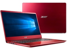 Ноутбук Acer Swift SF314-56G-748K Red NX.H51ER.005 (Intel Core i7-8565U 1.8 GHz/8192Mb/256Gb SSD/nVidia GeForce MX150 2048Mb/Wi-Fi/Bluetooth/Cam/14.0/1920x1080/Windows 10 Home 64-bit)