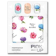 Наклейки для ногтей переводные PINK UP DECOR FLOWERS тон 611