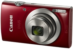 Цифровой фотоаппарат Canon Ixus 185 Red (1809C001AA)