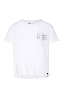 Короткая футболка с принтом One Teaspoon